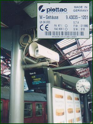 Kameraüberwachung in Kopenhagen